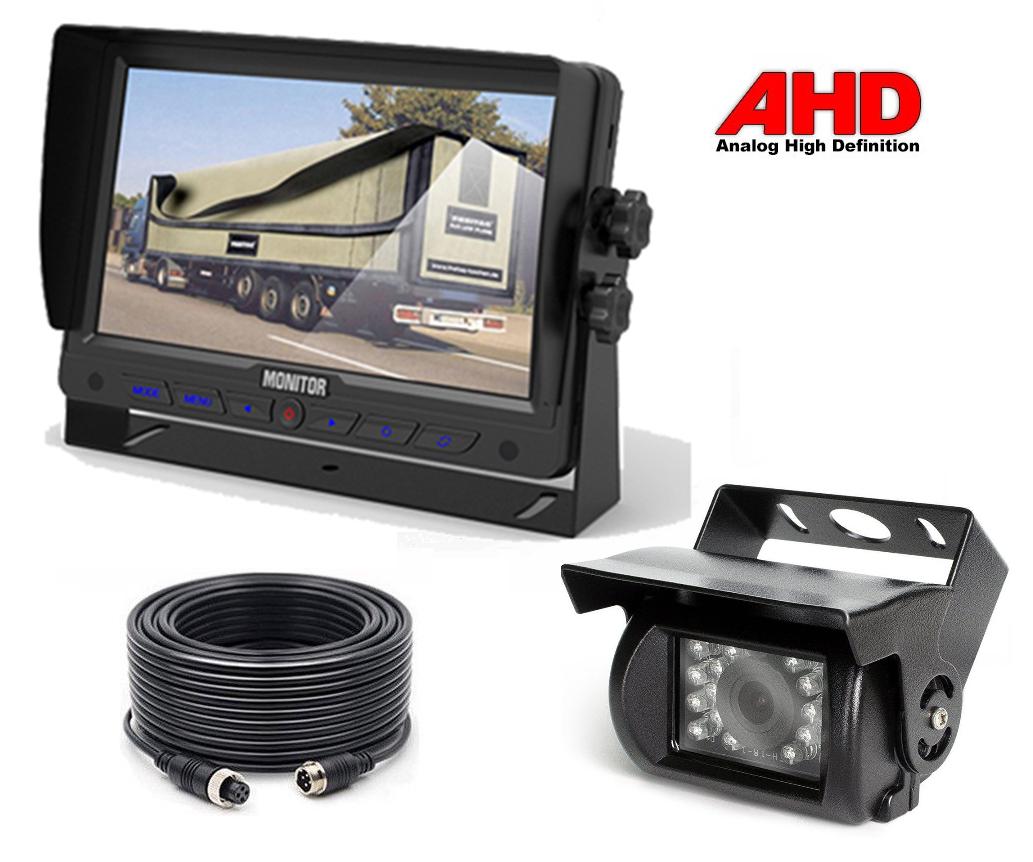989e4382706623 Actie 2K AHD set V2-7 inch Achteruitrijcamera set aanbieding Camera (Zwart)  V2 ...