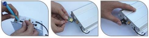GSM Pre-paid telefoonkaart installeren