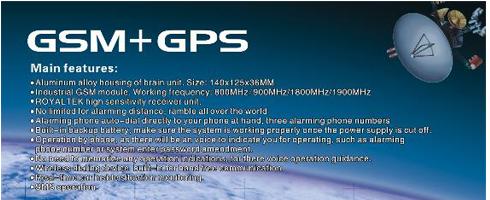 GPS / GSM Alarm Optie's